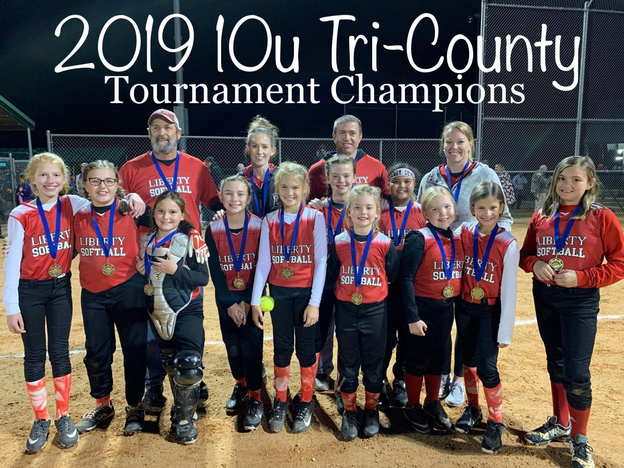 10u Tri County Champion 2019